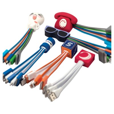 Picture of Custom Moulded Charge Cable 4n1