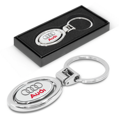 Picture of Spinning Metal Key Ring