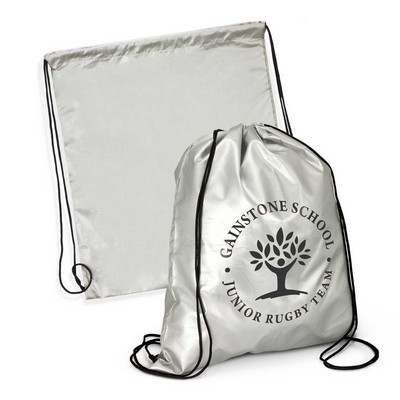 Picture of Titanium Drawstring Backpack