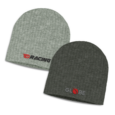 Picture of Nebraska Heather Cable Knit Beanie