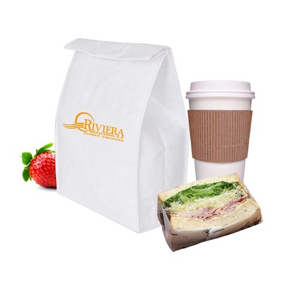 Picture of Larger Tyvek Cooler Lunch Bag(220x330x11