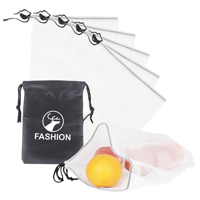 Picture of 5 Pieces Produce Bag Set