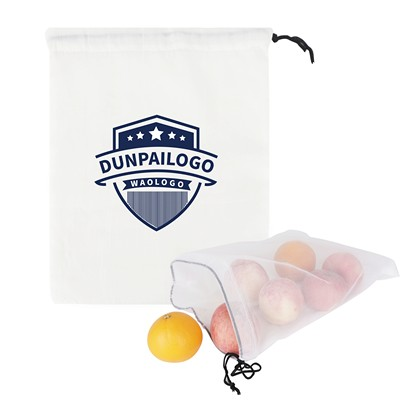 Picture of Cotton Mesh Produce Bag