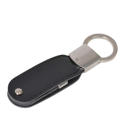 Picture of Leather Swivel Flash Drive