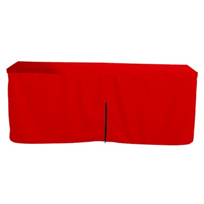 Picture of Fitted Table Cloth with Zipper Back * 8ftTable Cloth