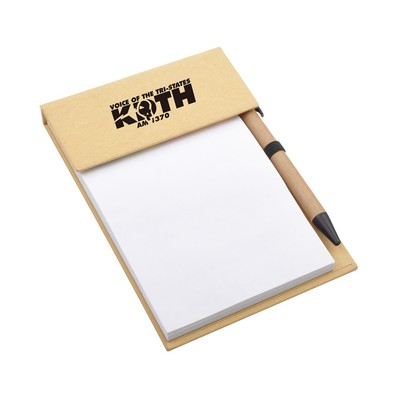 Picture of Desk Memo Pad with Pen