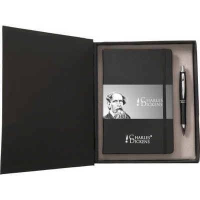 Picture of Aluminium Charles Dickens writing set
