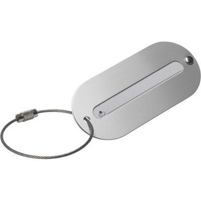 Picture of Aluminium luggage tag