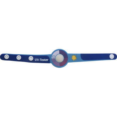 Picture of PVC UV tester wrist strap