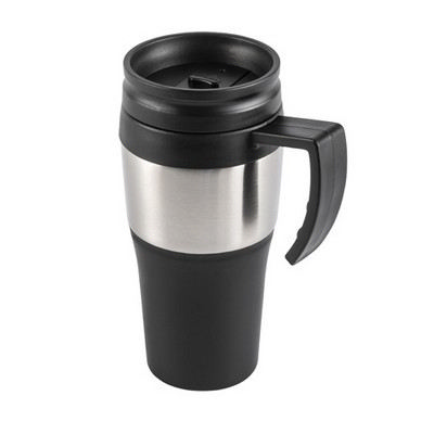Picture of PP and stainless steel travel mug