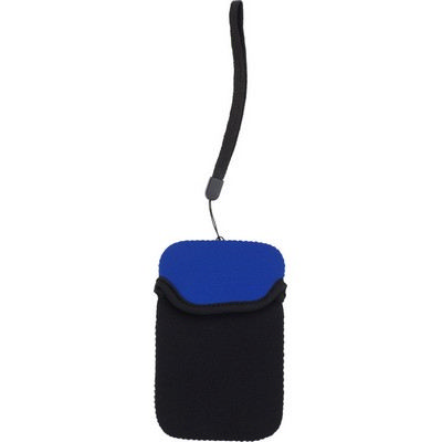 Picture of Neoprene mobile phone pouch.