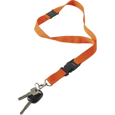 Picture of Polyester (300D) lanyard and key holder