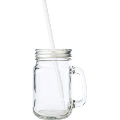 Picture of Glass mason jar