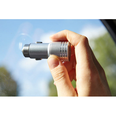 Picture of Stainless steel 2-in-1 car adapter
