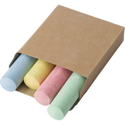 Picture of Cardboard box with chalk