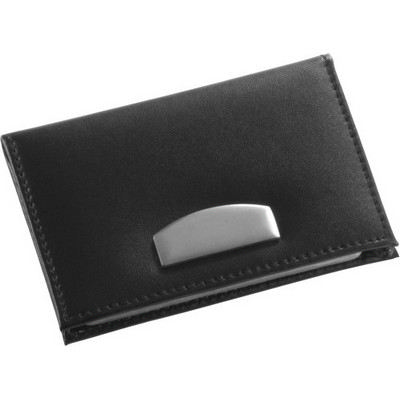 Picture of Bonded leather credit card holder