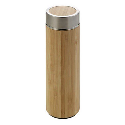 Picture of Bamboo and stainless steel double walled