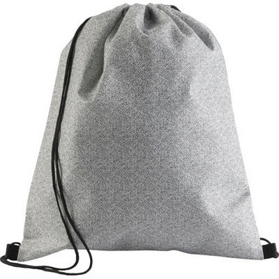 Picture of Nonwoven (70 grm) drawstring backpack