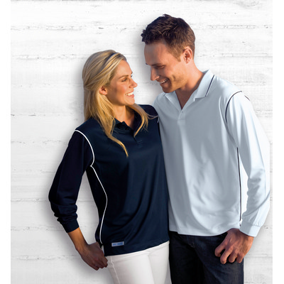 Picture of Dri Gear Long Sleeve Hype Polo
