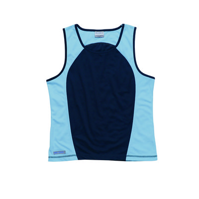 Picture of Dri Gear Active Contrast Singlet - WomensTees & Singlets