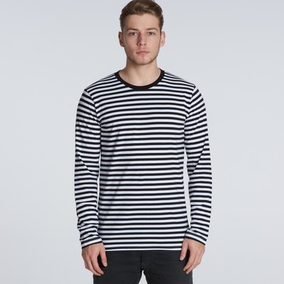 Picture of Match Stripe Long Sleeve Tee