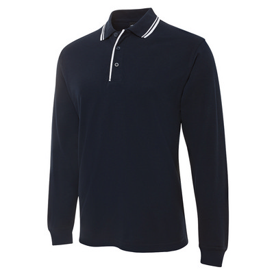 Picture of JB's  L/S C/TRAST POLO
