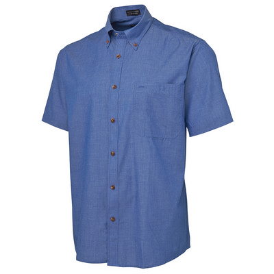 Picture of JB's  S/S INDIGO CHAMBRAY SHIRT -S