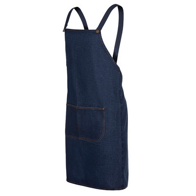 Picture of JB's  CROSS BACK DENIM APRON (WITHOUT ST
