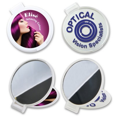 Picture of Reflections Round Folding Mirror