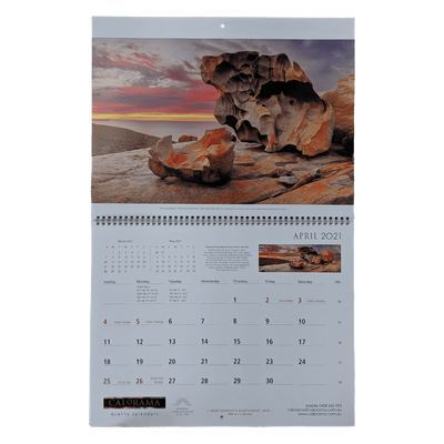 Large Booklet Calendar