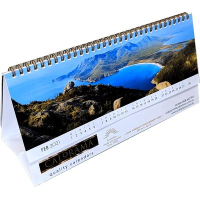 Picture of Panoramic Desk Calendar