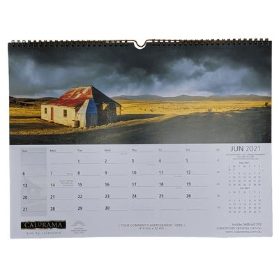Picture of Small Panoramic Wall Calendar