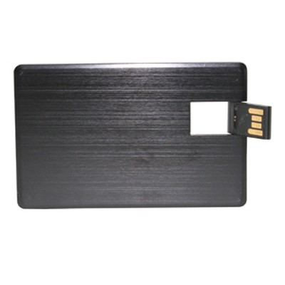 Picture of Alu Black Credit Card Drive 4GB
