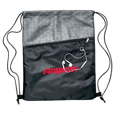 Picture of Silver Strider Drawstring Bag