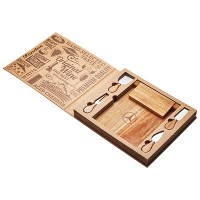 Picture of St. Andrews Magnetic CheeseBoard & Knife