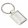 Accent Rectangular Keychain