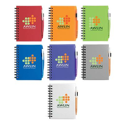 Picture of Bic Plastic Notebook (Small)