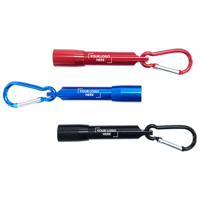 Picture of Carabiner LED Flashlight with Gift Box