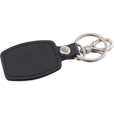 Picture of Brushed Plate Key Ring