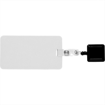 Picture of Easy To Go Square Badge Holder