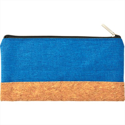 Picture of Heather Pouch with Cork Combo