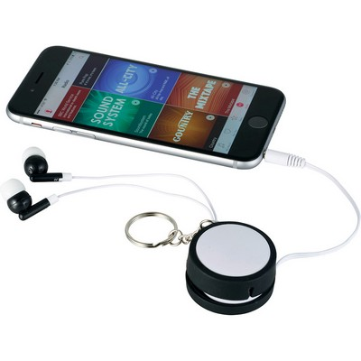 Picture of Orbit Ear Bud Wrap Key Tag