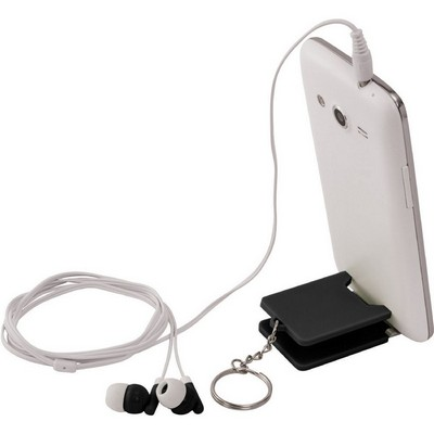 Picture of Spectra Earbuds & Mobile Phone Stand
