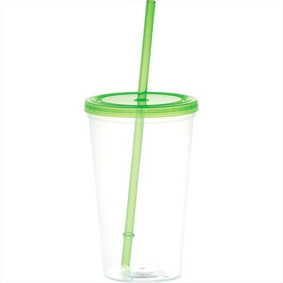 Picture of Glacier 20-oz. Tumbler with Straw