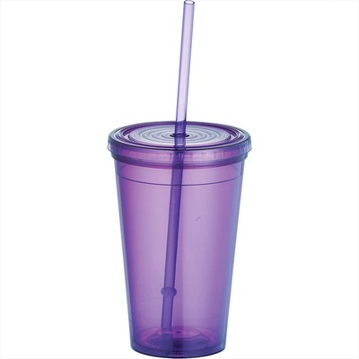 Picture of Iceberg 16-oz. Tumbler with Straw