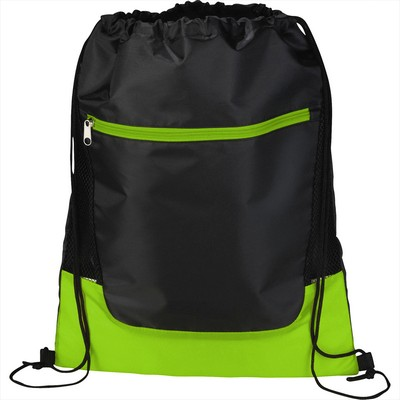 Picture of Libra Front Zipper Drawstring Sportspack