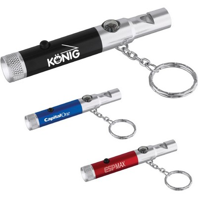 Picture of Whistle Key-Light with Compass