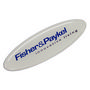 Resin Coated Labels 90 x 30mm Oval