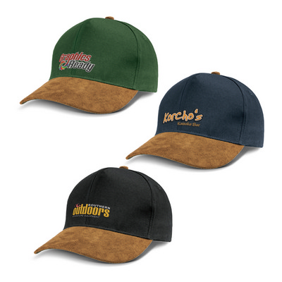 Picture of Outback Suede Peak Cap