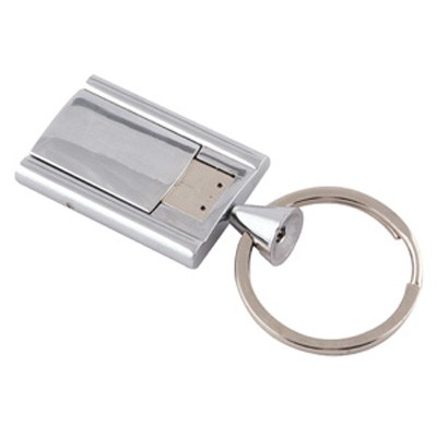 Picture of Chrome Flip Flash Drive 4GB